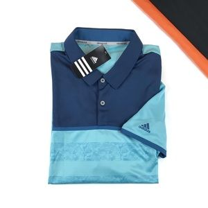 Adidas Climacool 2D Camo Stripe Golf Polo Size XL